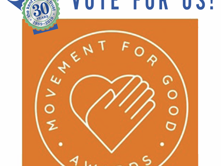 Please vote for KAT……2021 Movement for Good awards