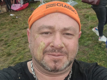 Carl Page's Tough Mudder raises £1,235 for Family Support....
