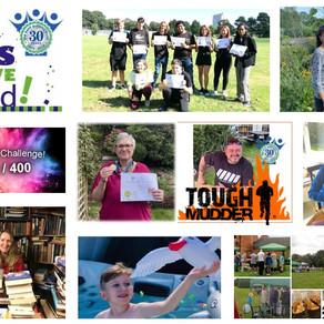Some fantastic achievements of our 250 / 400 Challenge participants so far....