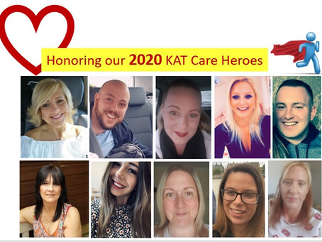Throwback Thursday, recognising some more of our 2020 KAT Heroes from last year!!