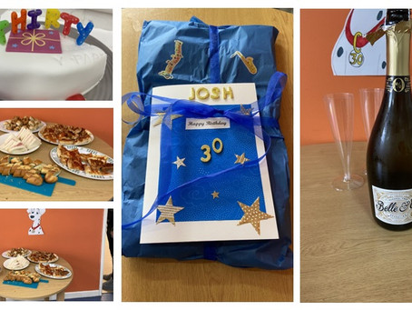 30th Birthday celebrations at our Lock Street Day Centre....