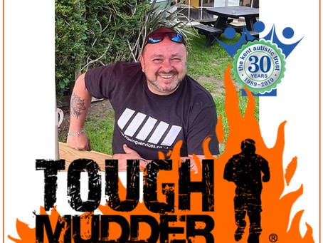 Carl Page takes on Tough Mudder Challenge for our Family Support service....