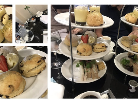 River Drive's afternoon tea....