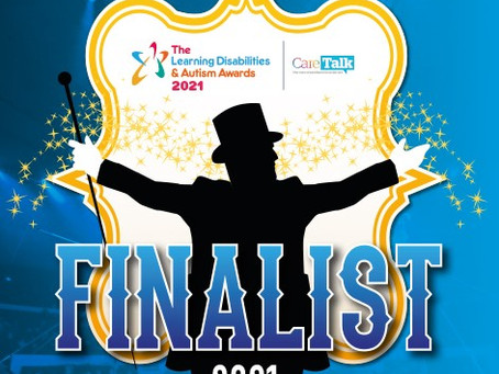 Finalists for The National Learning Disabilities & Autism Awards 2021....