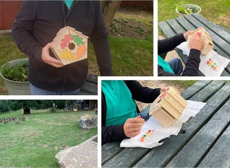 Making bird boxes at Beaver Lane!!