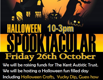 Spooktacular at The Pentagon Centre raising funds for The Kent Autistic Trust