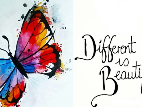 Different is beautiful.... ️