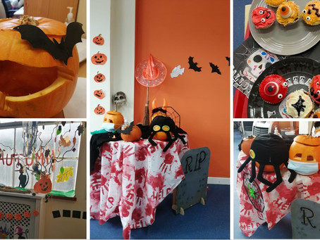 Our Lock Street Day Centre celebrate Halloween with a big party