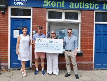£5,000 raised by Furley Page, thank you from us all!