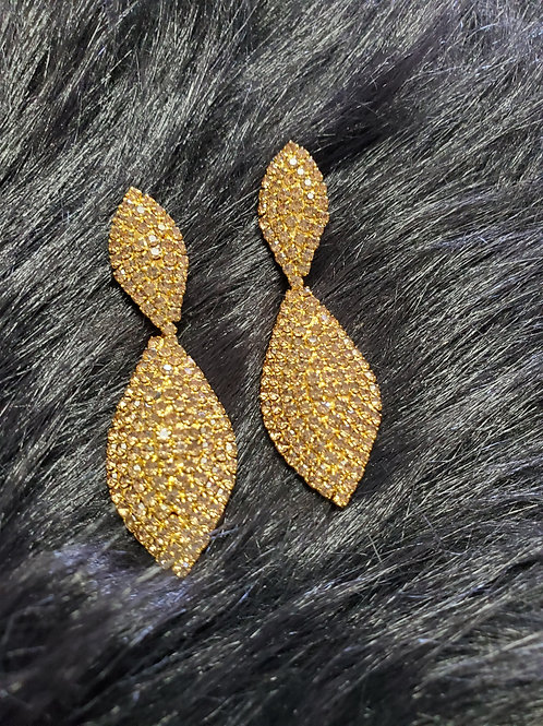 Evening Pierced Earrings-Spear