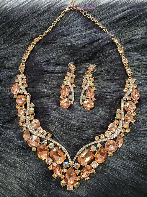 Glamorous Necklace & Earring Set