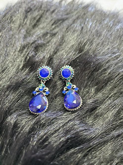 Evening Pierced Earrings-Antiquity