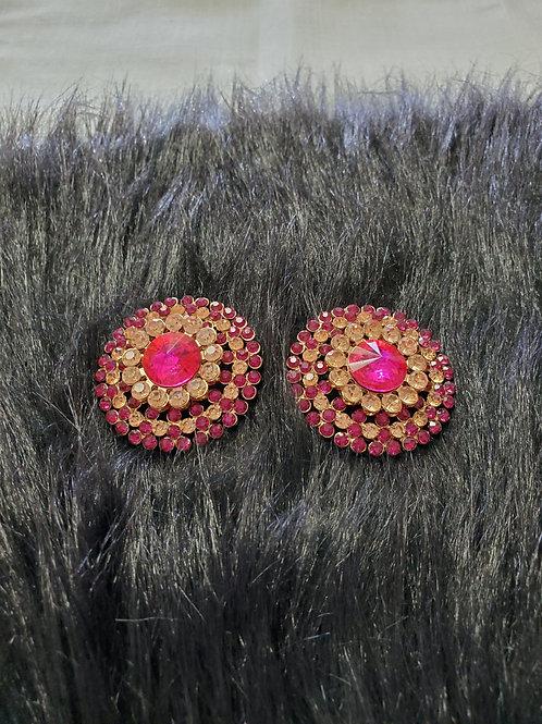 Earrings-Clip-Paisley