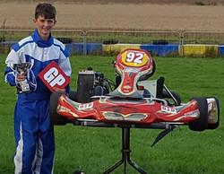 2016 Ben Ardem GP plate winner Junior Ro