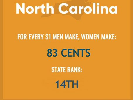 The Gender Pay Gap is REAL across the country!