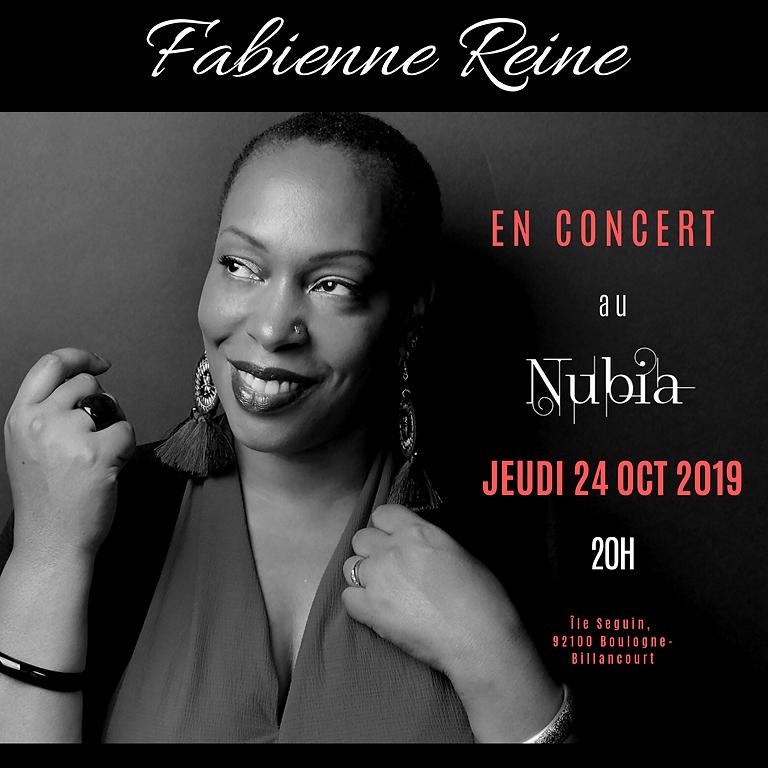 FABIENNE REINE - Concert au Nubia