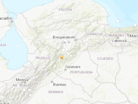 Fuerte sismo de 5,2 de magnitud sacude a Venezuela: Epicentro localizado en Lara – Portuguesa