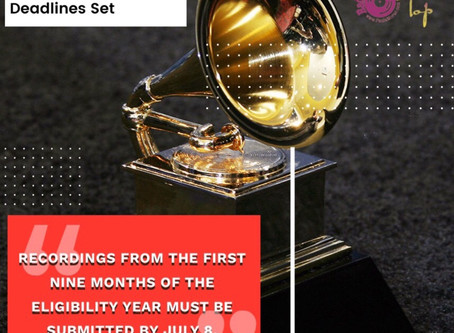 62nd Annual Grammy Awards Dates and Deadlines Set