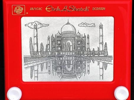 """Tal Día como hoy """"Etch A Sketch"""", el juguete de dibujo más famoso"""