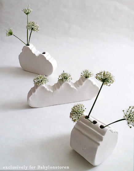 cara bauermeister ceramics gable vase tr