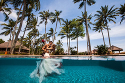 Underwater prewedding photography SG