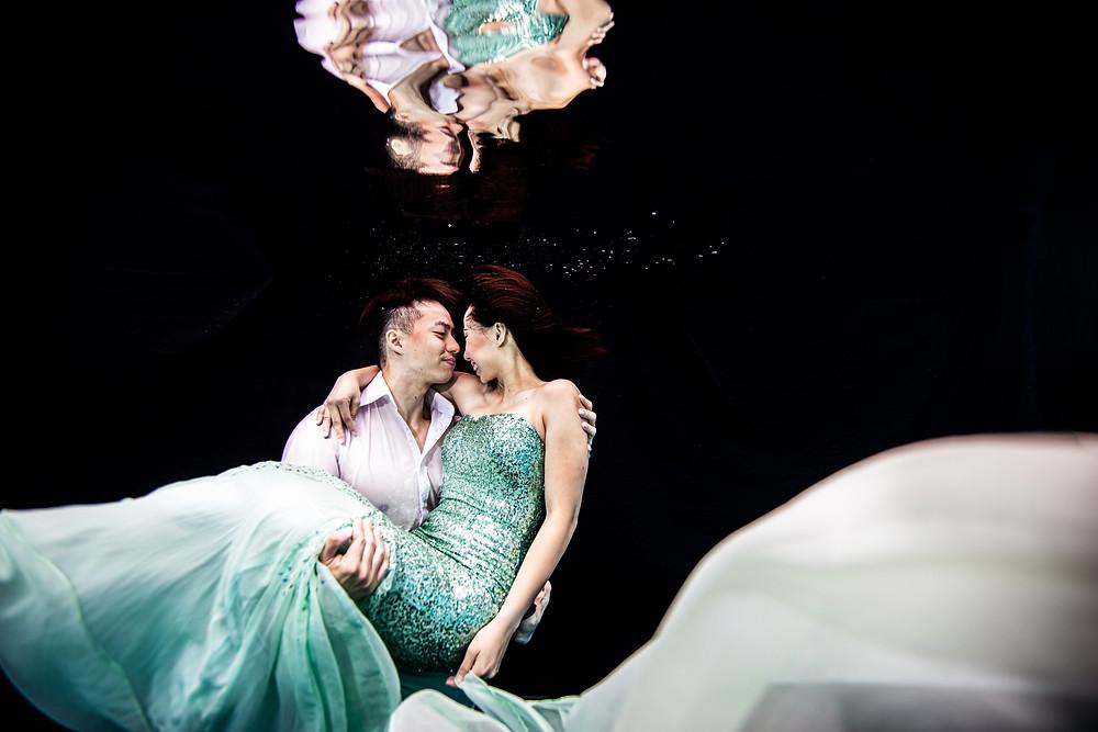 Underwater Pre-wedding Photography Singapore