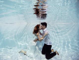 Zhenyi & nicole- An inspirational underwater photoshoot