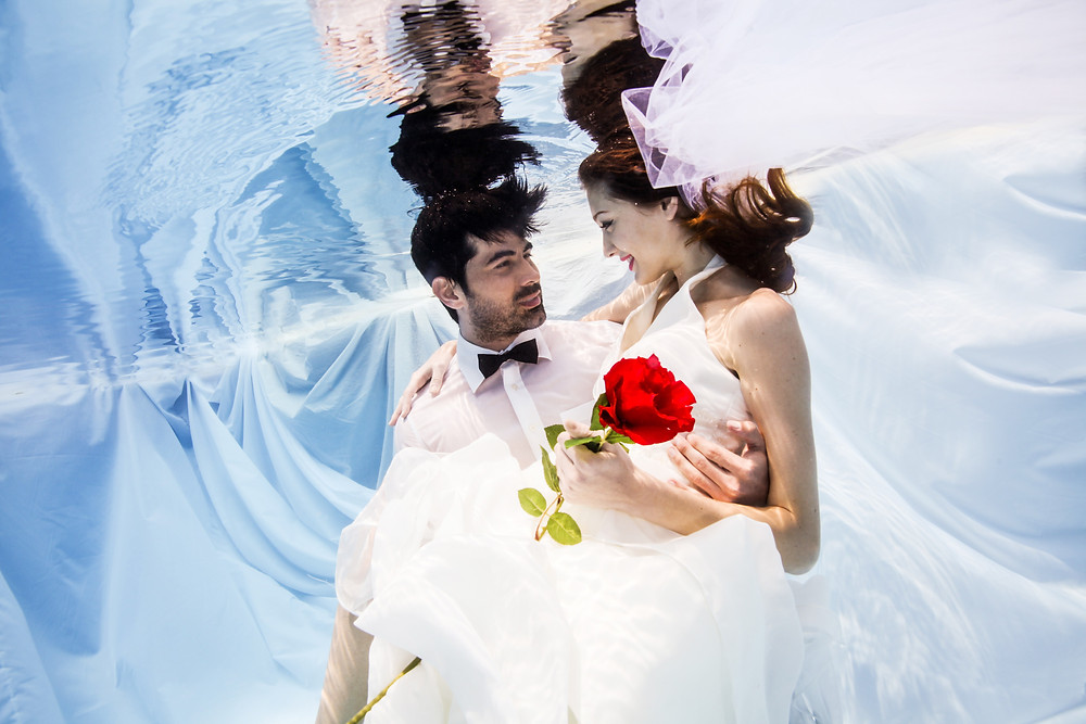 Underwater Prewedding Photography Singapore