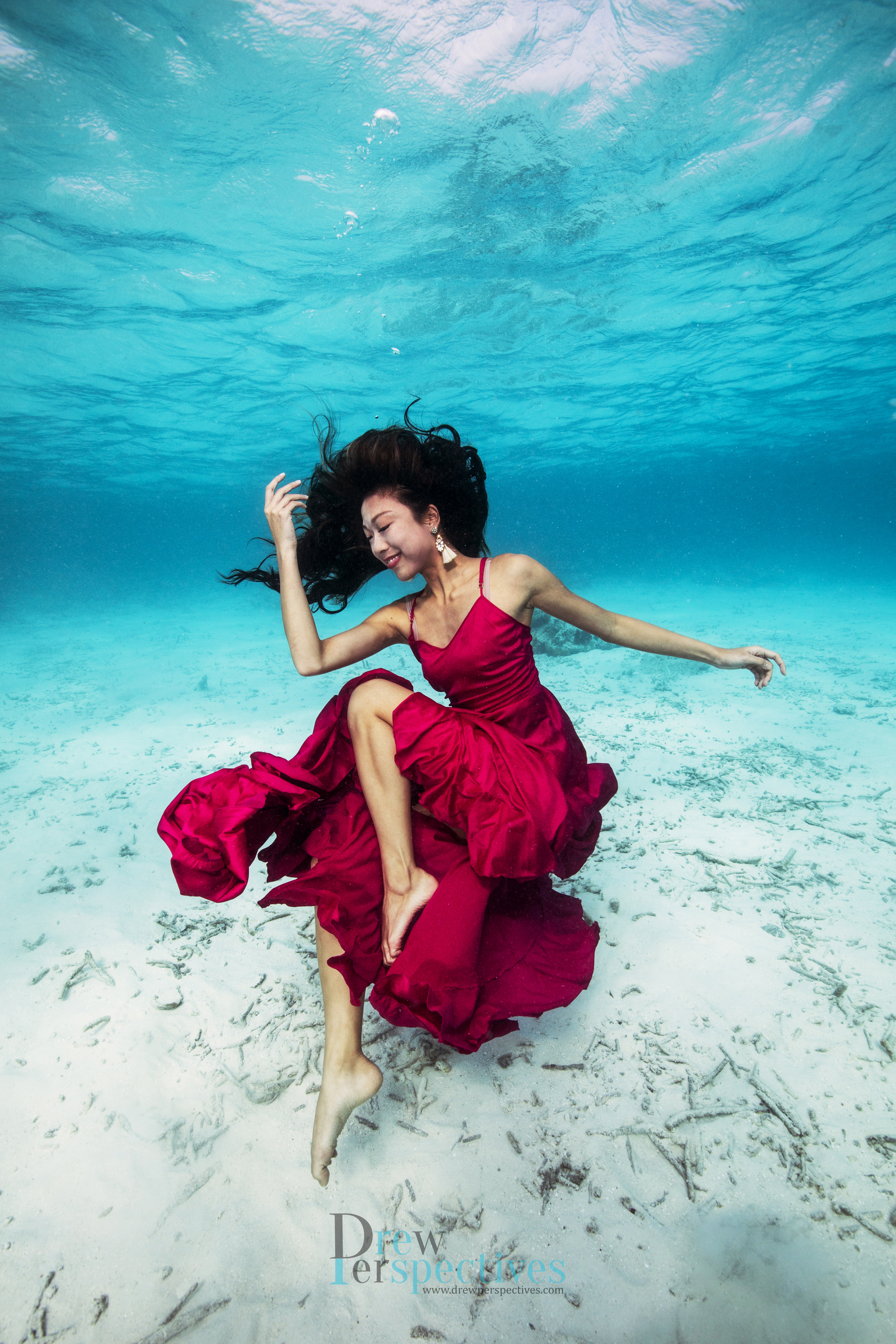 Underwater r Portrait Photography SG