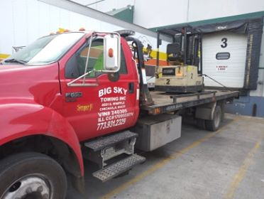 Big Sky Towing Inc | 773-931-2329