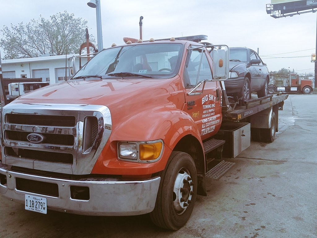 Towing Service   Big Sky Towing Inc   Chicago
