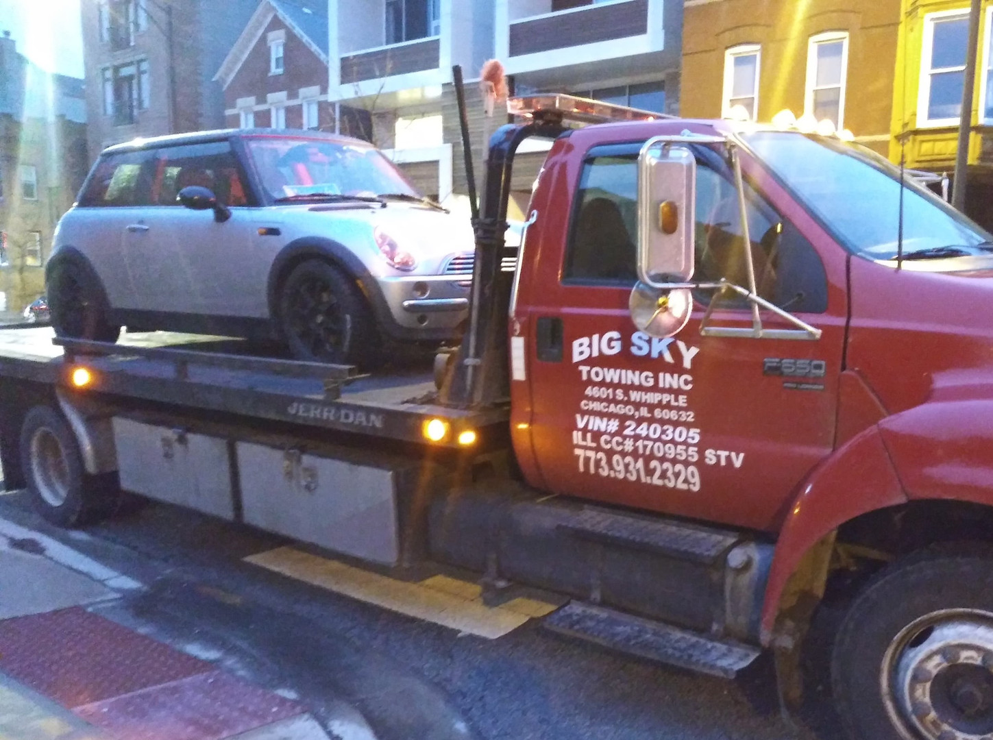 Big Sky Towing Inc   Towing Company   Chicago