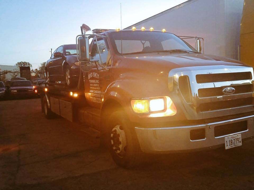 Big Sky Towing Inc | Towing Company