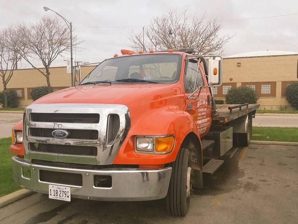 Big Sky Towing Inc   773-931-2329   Chicago