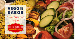 veggie kabob