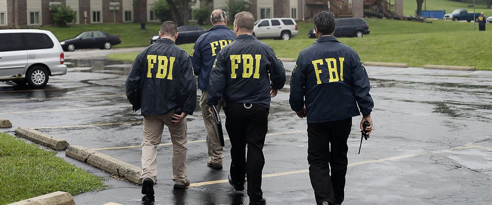 FBI Agents coming for your guns! Or going to lunch. Who knows.