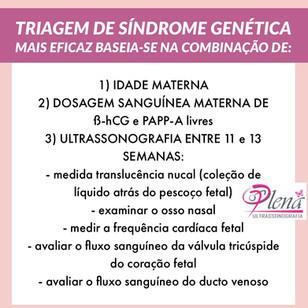 Grávida após 35 anos! Meu bebê vai ter síndrome genética? Como posso investigar isso?