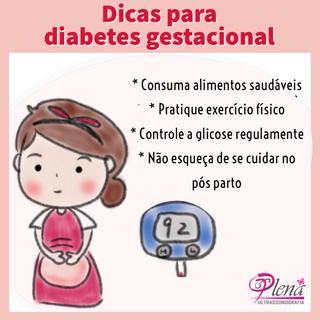 Dicas para mulheres com diabetes gestacional