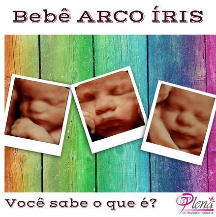 Bebê arco íris.
