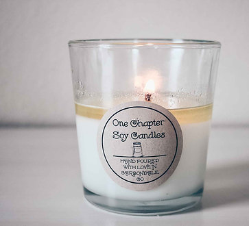 12-Ounce Soy Candle in Glass Tumbler