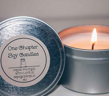 8-Ounce Soy Candle in a Tin