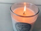Scented Soy wax candle in glass tumbler