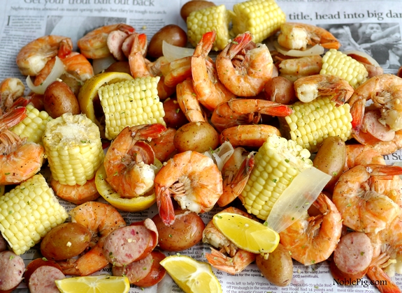 Noble-Pig-Low-Country-Shrimp-Boil-OXO-Shrimp-Down