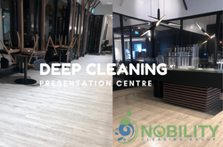 show room cleaning