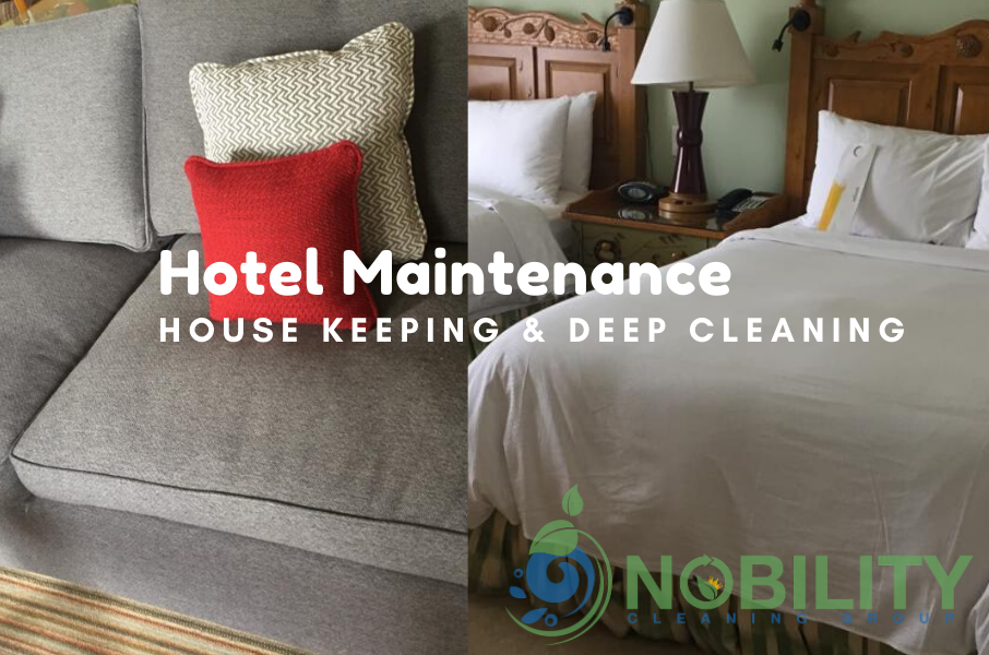 hotel deep cleaning