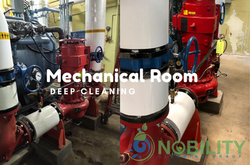 mechanical room cleaning