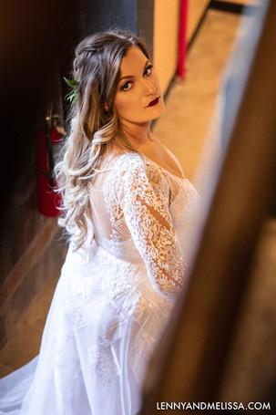 Bold Lip Bridal