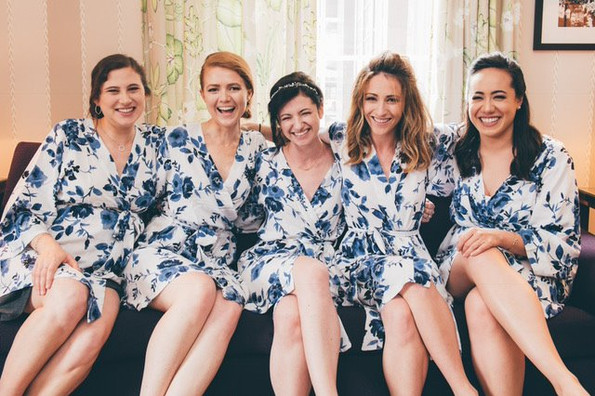 Soft Bridal Party Glam