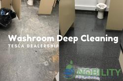 washroom deep cleaning