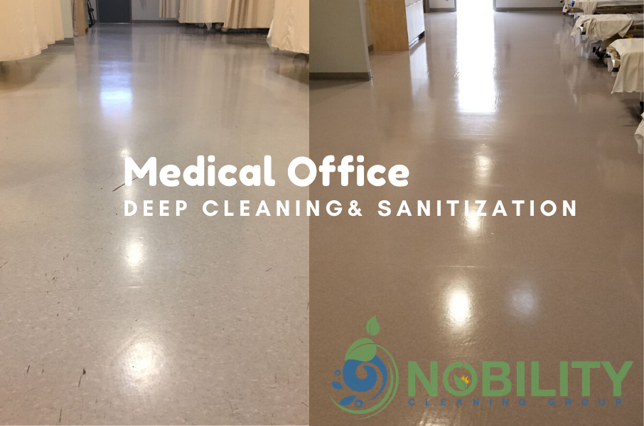 medical office deep cleaning